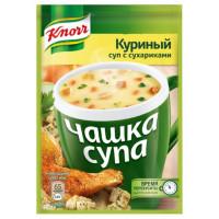 Суп Кнорр куриный с сухариками 16г