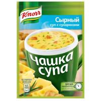 Суп Кнорр сырный с сухариками 15,6г