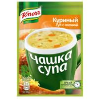 Суп Кнорр куриный с лапшой 13г