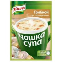Суп Кнорр грибной с сухариками 15,5г