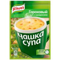 Суп Кнорр гороховый с сухариками 21г