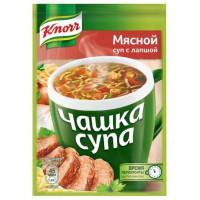 Суп Кнорр мясной с лапшой 14г