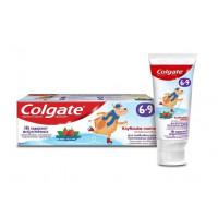 Паста зубная Колгейт Клубника-мята с фторидом 6-9 детская 60мл