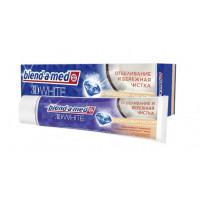 Паста зубная Бленд-а-мед 3D Вайт Отбеливание и бережная чистка с кокосовым маслом 100мл
