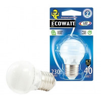 Лампа Эковатт P45 230B 40W 4000K E27 светодиодная