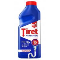 Гель Тирет для чистки труб профессионал 500мл