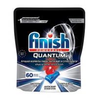 Средство Финиш Квантум Ультимат для мытья посуды в посудомоечных машинах в капсулах 60шт