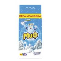 Порошок Миф автомат морозная свежесть 9кг
