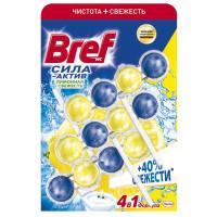 Средство Бреф Сила Актив для унитаза чистящее лимон 50г*3
