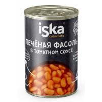Фасоль Иска печеная в томатном соусе 400г