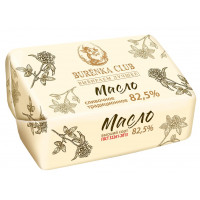 Масло Буренка клаб сливочное 82,5% 180г
