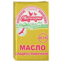 Масло Свитлогорье сладкосливочное 82,5% 180г