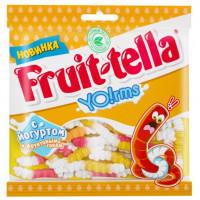 Мармелад жевательный Фруттелла Йогуртовые червячки 138г