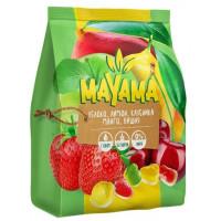 Мармелад жевательный Маяма яблоко, лимон, клубника, манго, вишня 250г