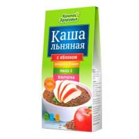 Каша Компас здоровья льняная с яблоком 250г