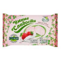 Зефир Ди энд Ди Умные сладости со стивией клубника со сливками 150г