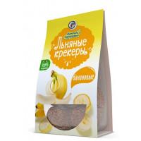 Крекер Компас Здоровья банановые льняные безглютеновые 50г