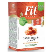 Заменитель сахара №17 Фит Парад со вкусом карамели 100шт 50г