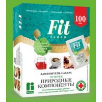 Заменитель сахара ФитПарад №10 на основе эритрита 100 саше