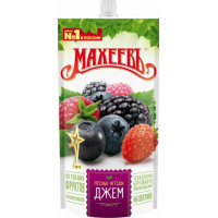 Джем Махеев лесные ягоды 300г дой-пак