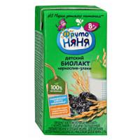 Биолакт Фруто-няня кисломолочный чернослив и злаки 2,9% 200мл