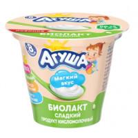 Биолакт Агуша кисломолочный сладкий 3,2% 90г