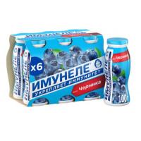 Напиток кисломолочный Нео айдиа имунели черника 100г 1,2%