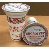 Биойогурт Славянские кружева натуральный 3,0% 175г