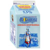 Продукт кисломолочный Вологжанка снежок сладкий 2,5% 470г