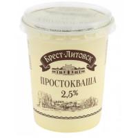 Простокваша Брест-Литовск 2,5% 380г