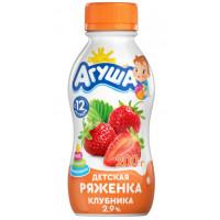 Ряженка Агуша клубника 2,9% 200г