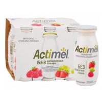 Продукт кисломолочный Актимель виноград-клубника-малина 2,2% 95г