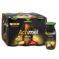 Напиток кисломолочный Актимель ананас-юзу-экстрат гуараны 2,5% 100г