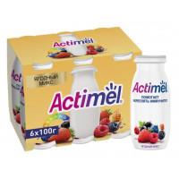 Продукт кисломолочный Актимель ягодный микс 2,5% 100г