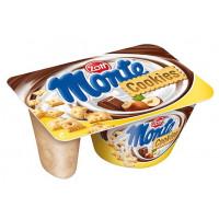Десерт Цотт Монте молочный с шоколадом и фундуком+песочн.печенье 125г