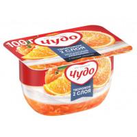Десерт Чудо творожный Испанский Апельсин 4,2% 100г