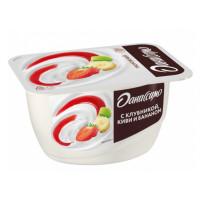 Продукт творожный Даниссимо с клубникой-киви-бананом жир.5,4% 130г