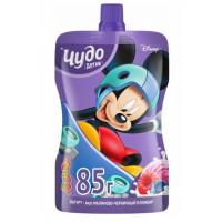 Йогурт Чудо детки малиново-черничный пломбир 2,7% 85г