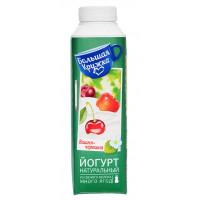 Йогурт Большая кружка питьевой вишня-черешня 1,9% 500г