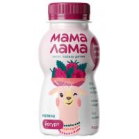 Йогурт Мама Лама питьевой с малиной 2,5% 200г