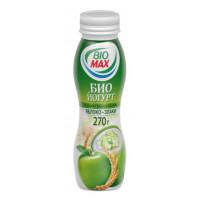 Био-йогурт Био-Макс питьевой яблоко-злаки 2,7% 270г