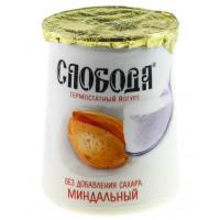 Био-йогурт Слобода термостатный миндальный 2% 150г