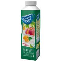 Йогурт Большая кружка питьевой персик-абрикос 1,9% 500г