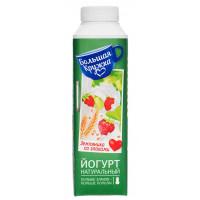 Йогурт Большая кружка питьевой земляника со злаками 1,9% 500г