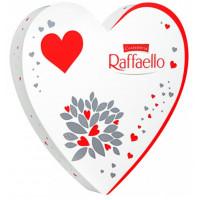 Конфеты Раффаэлло 120г сердце