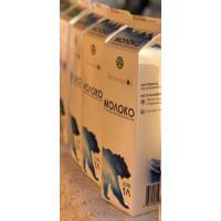 Молоко Заонежное российское 2,5% 1л