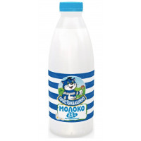 Молоко Простоквашино пастеризованное 2,5% 0,930л