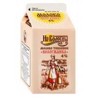Молоко Вологжанка топленое 4% 470г