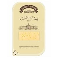 Сыр Брест-литовск сливочный 50% 150г нарезка