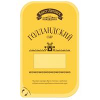 Сыр Брест-Литовск Голландский 45% 150г нарезка